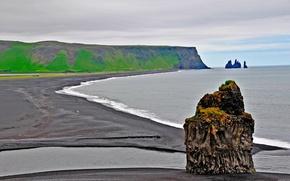 mare, costa, paesaggio, natura