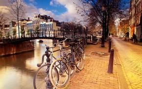амстердам, велики, улочка