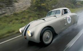 BMW, classique, course