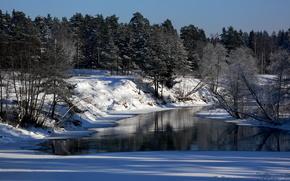 зима,  снег,  природа,  пейзаж