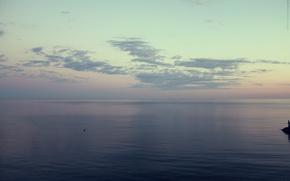 sky, sunset, sea, sun