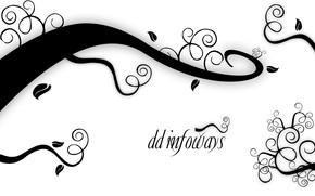sfondo, bianco, nero, iscrizione