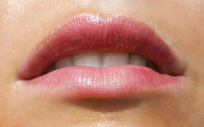рот, губы, девушка, модель, сексуальная, красивая