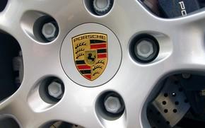 Porsche, logotipo, cap
