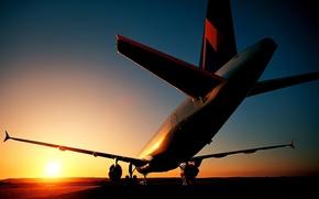 Aviacin, avin, vuela, transatlntico, cielo