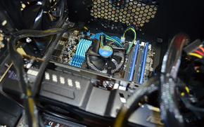 processador, PC, refrigerador, unidade de sistema