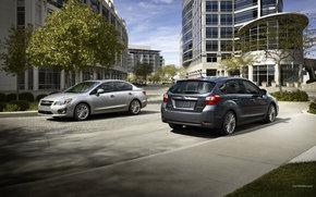 Subaru, Impreza, Auto, macchinario, auto