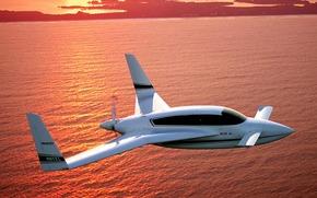 velocity_xl_rg, plane, sky, sunset