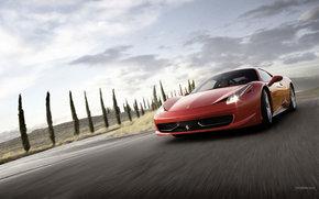 Ferrari, 458, Car, machinery, cars
