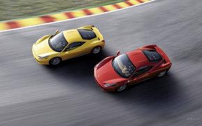 Ferrari, 458, Coche, Maquinaria, coches