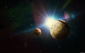 Планета,  спутник,  солнце