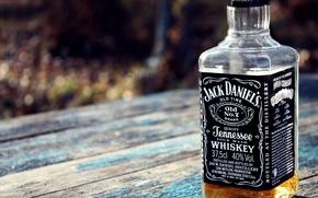 Jack Daniels,  алкоголь,  стол