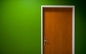 porta, verde, penna