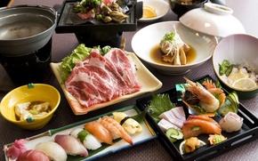 стол,  блюда,  изысканность,  гурман,  аппетит