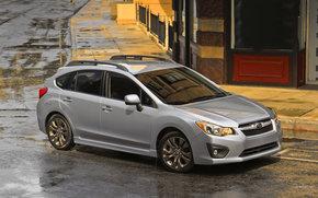 Subaru, Impreza, Car, machinery, cars