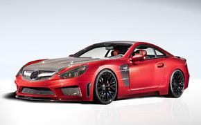 Mercedes, Carlsson, Sintonia, sportiva, auto, macchinario, Auto