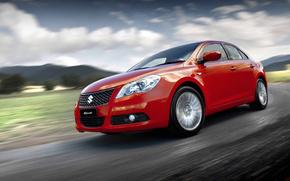 Suzuki, macchina, velocit, strada, Kizashi, auto, macchinario, Auto