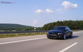VW, Scirocco, 1.4, TSI, German, Autobahn, cars, machinery, Car