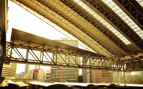 япония,  осака,  вокзал,  поезд