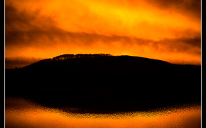sunrise, morning, ripple