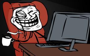 trollfeys, para pesca de curricn, los trolls, ordenador, copa