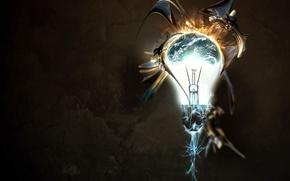 свет,  лампы,  раскалённой