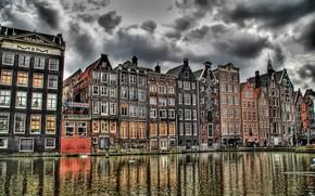 канал, кофешоп, амстердам