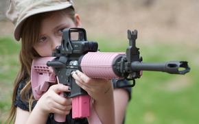arma, pistole, chik-pock