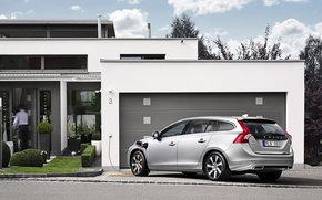 Volvo, V60, Car, machinery, cars