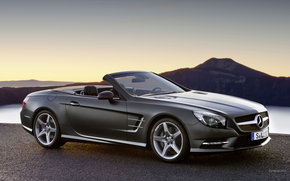 Mercedes-Benz, SL-Class, Car, machinery, cars