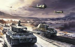 War, tank, Tigray, Panther.