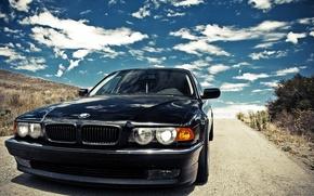 Samochd, maszyna, BMW, BMW, czarny