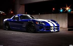 Dodge, Viper, SRT, 闪避, 毒蛇, 机, 汽车, 机械, 汽车