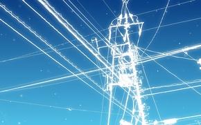 lnea, electricidad, Transmisin