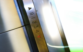 elevator, cabin, numbers
