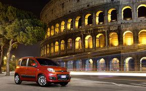 Fiat, Panda, Auto, macchinario, auto