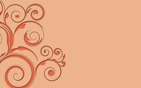 los patrones de, ornamento, se deriva, textura