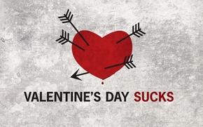 день,  святого,  валентина,  сердце,  стрелы,  кровь,  текстура,  надпись
