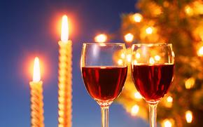 Felicidade, Velas, culos, vinho, frias, Ano Novo