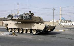 солдат,  танк,  город