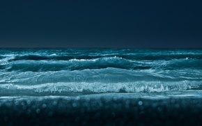 Deep, blue, sea