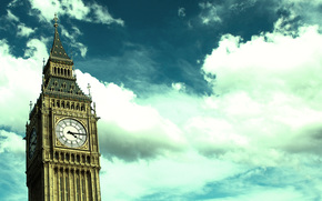 лондон,  биг-бен,  большой бен,  часы,  стрелки,  башня,  часовая башня,  небо,  облака