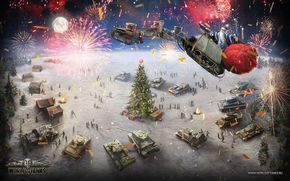 World of Tanks, wot, Tanques, Natal