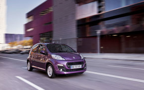 Peugeot, 107, Voiture, Machinerie, voitures
