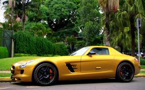 Mercedes, voitures, Machinerie, Voiture