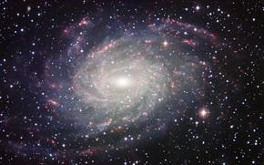 спиральная галактика,  подобная млечному пути