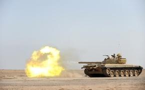 ирак,  танк,  война,  выстрел
