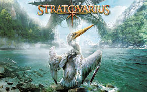 stratovarius, swan, lake