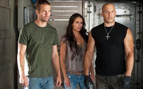 Vin Diesel, Jordana Brewster, Paul Walker