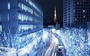 Tokyo, Ville, ville la nuit, La capitale japonaise